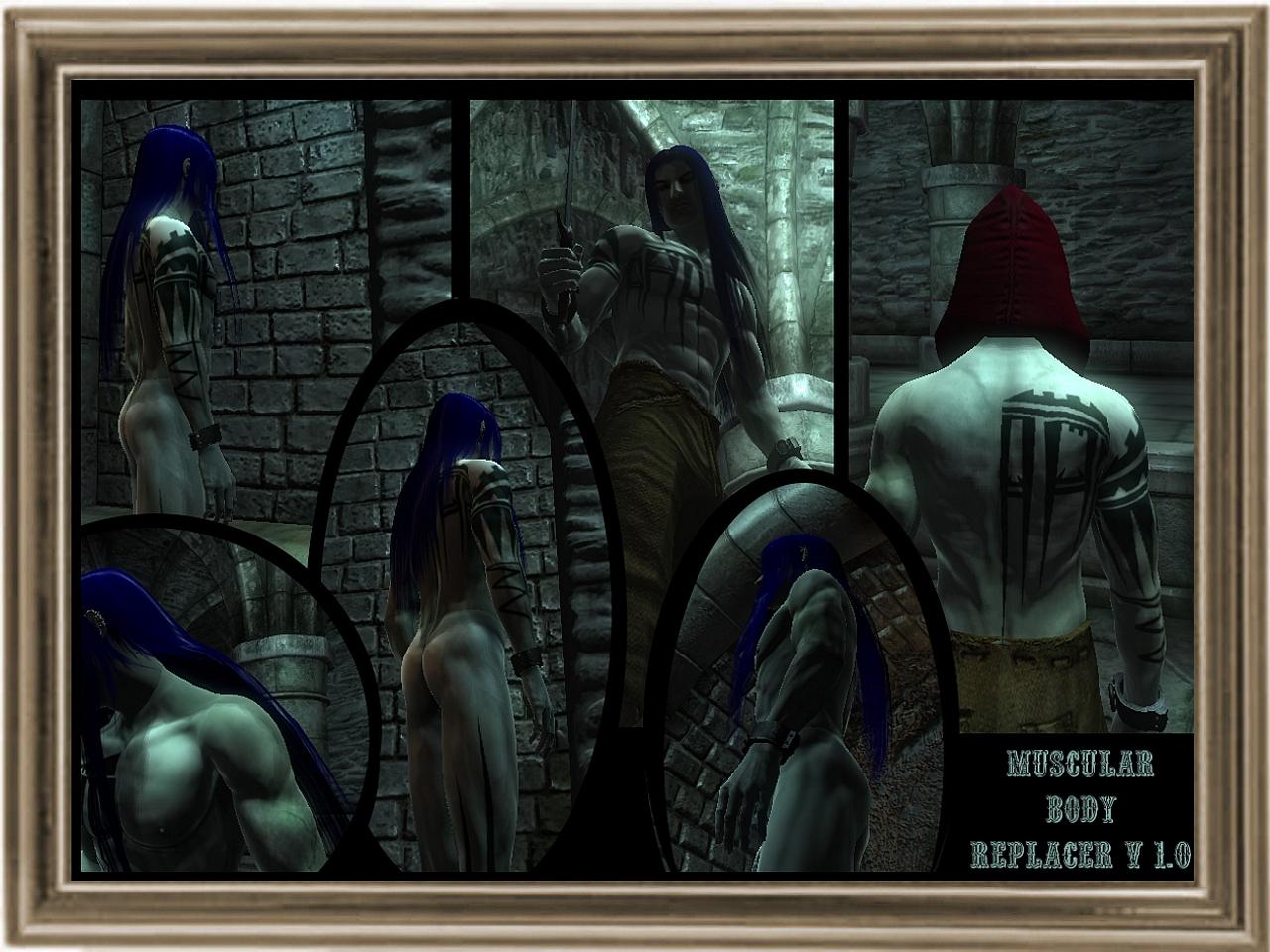 Oblivion slofs boners mod naked boob